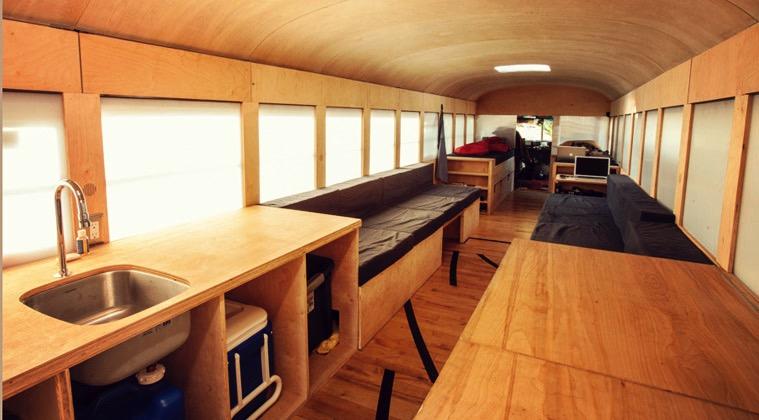 Schöner Wohnen Im Schulbus
