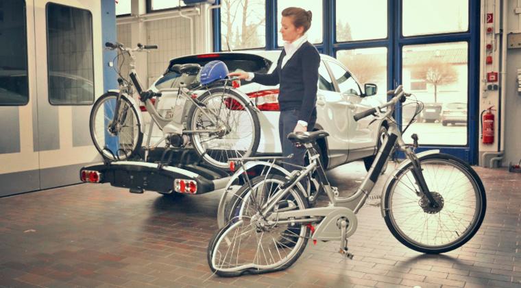Fahrradträger: Für E-Bikes nicht immer geeignet!