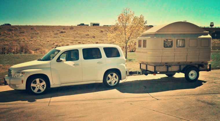 Teal International - Tail Feather Camper