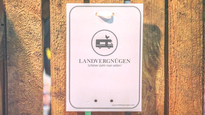 Newsletter abonnieren und Landvergnügen-Stellplatzführer gewinnen!