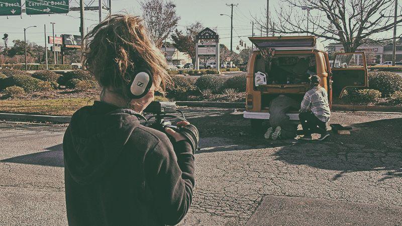 VanLife: Eine Web-Dokumentarserie über Moderne Nomaden