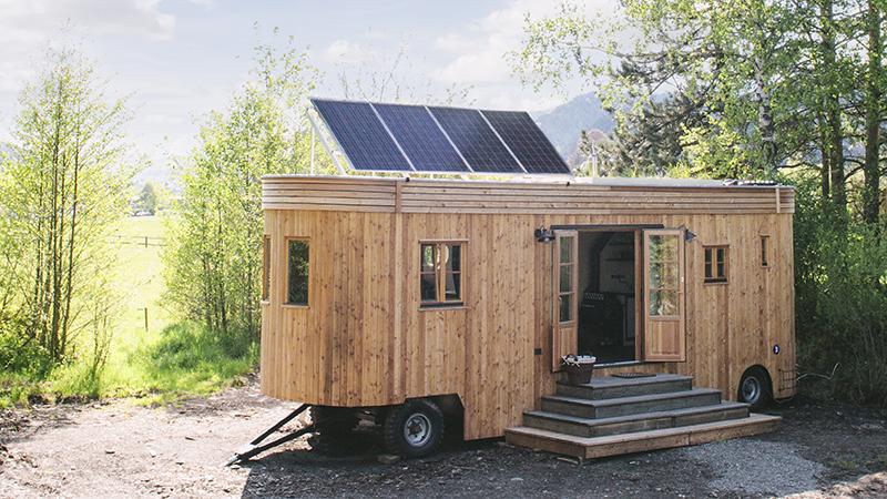 Ausbau Holz (c) Wohnwagon