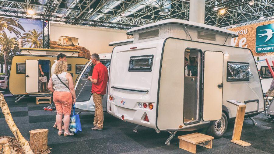 Halbzeit beim Caravan Salon – Impressionen