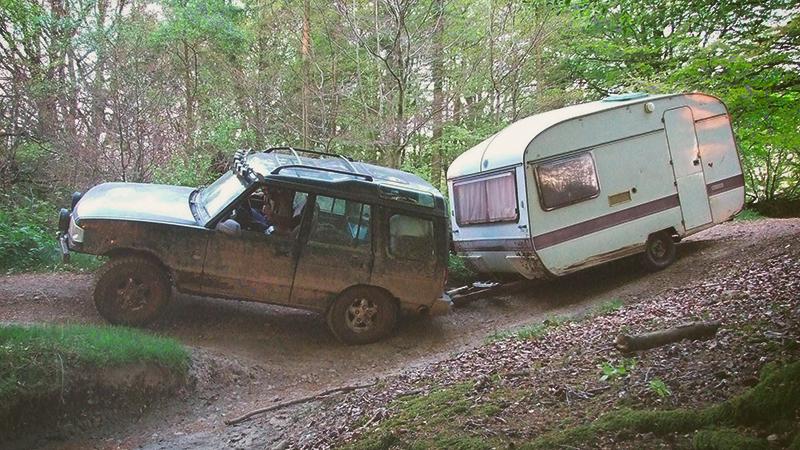 Caravan Offroad - Wohnwagen Gelände