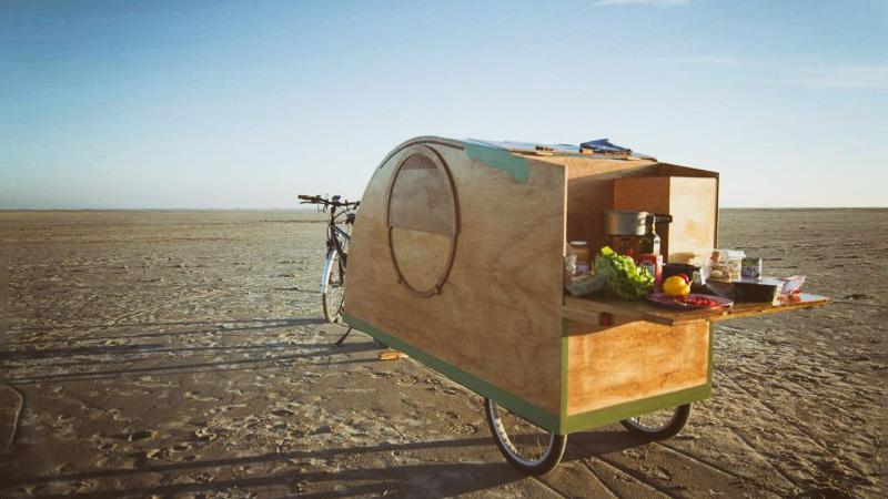 Bike Camper: Die schönsten Mini-Mobile-Homes für Fahrradnomaden
