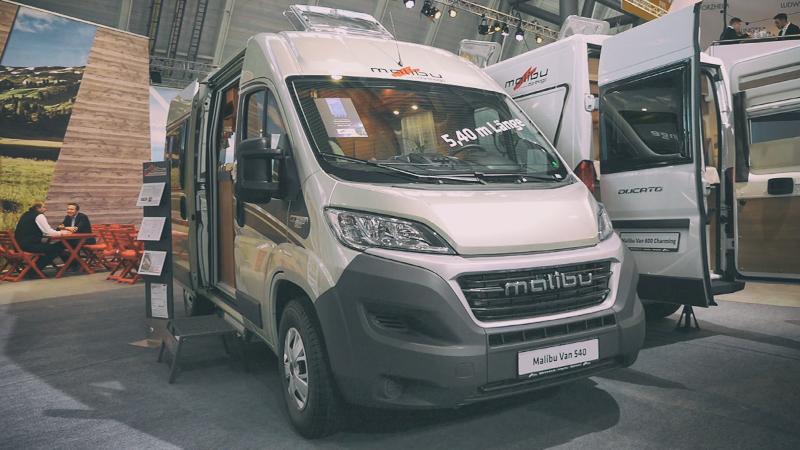 Malibu Van 540 - Kastenwagen für Paare