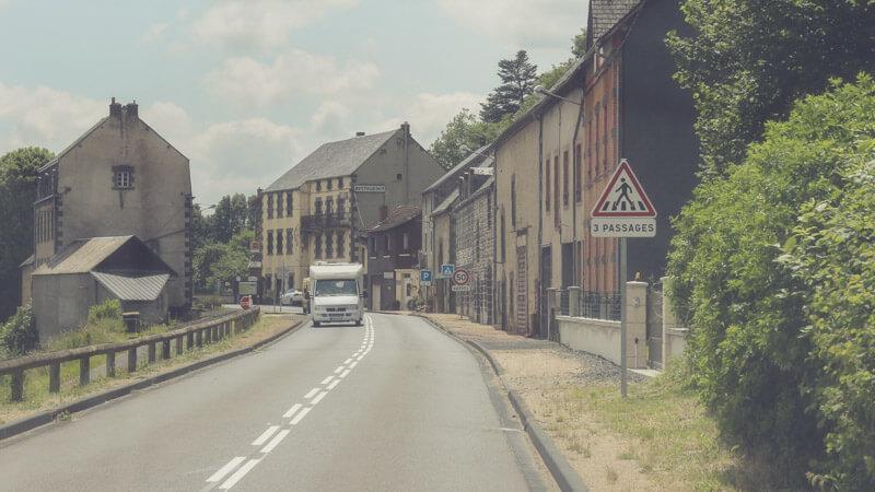 Mit dem Wohnmobil durch die Auvergne, Frankreich