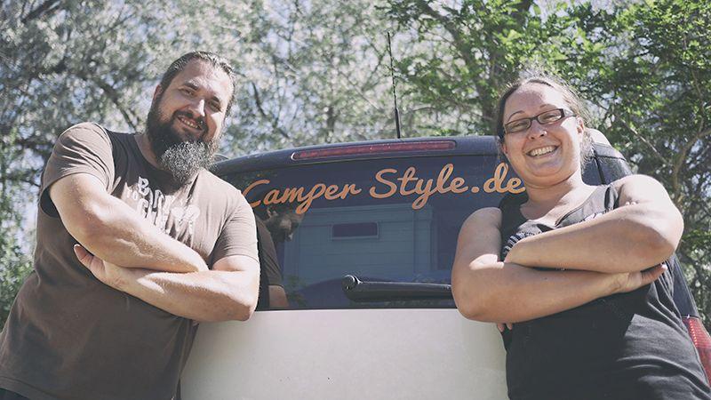 Sebastian und Stefanie Vogt sind neue Partner bei CamperStyle