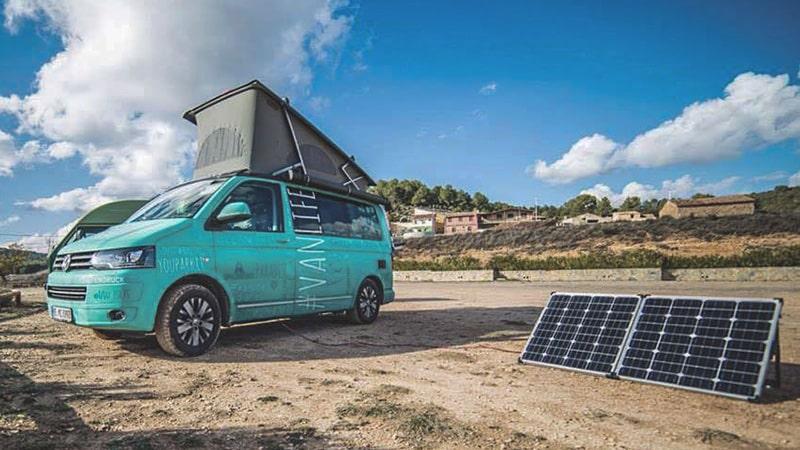 Mobile Solaranlagen Fürs Camping