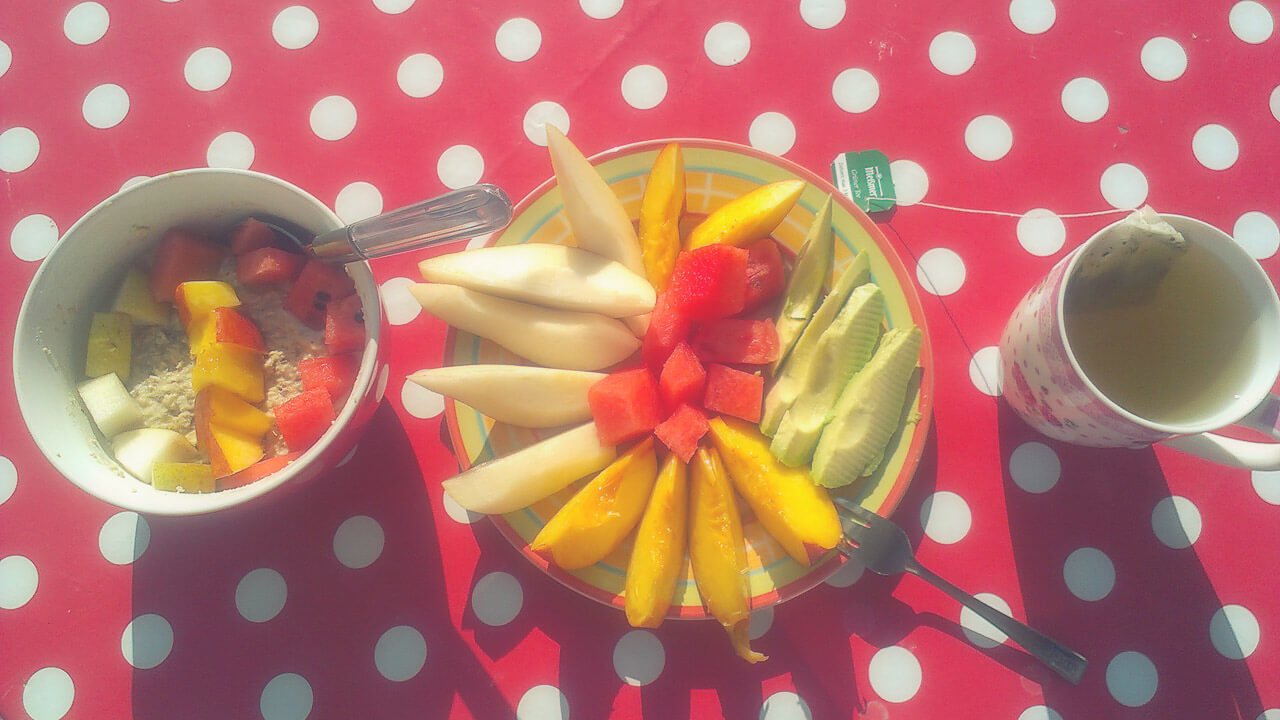 Camperfrühstück für Kinder