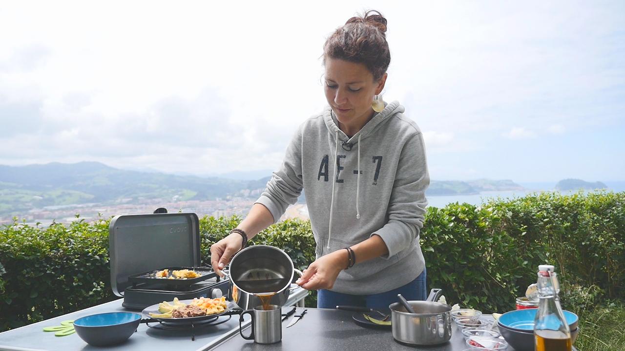 Rezepte Für Den Camping-Grill + Gewinnspiel: Teil 5 – Mexikanisches Frühstück Mit Eiern Und Zimtkaffee