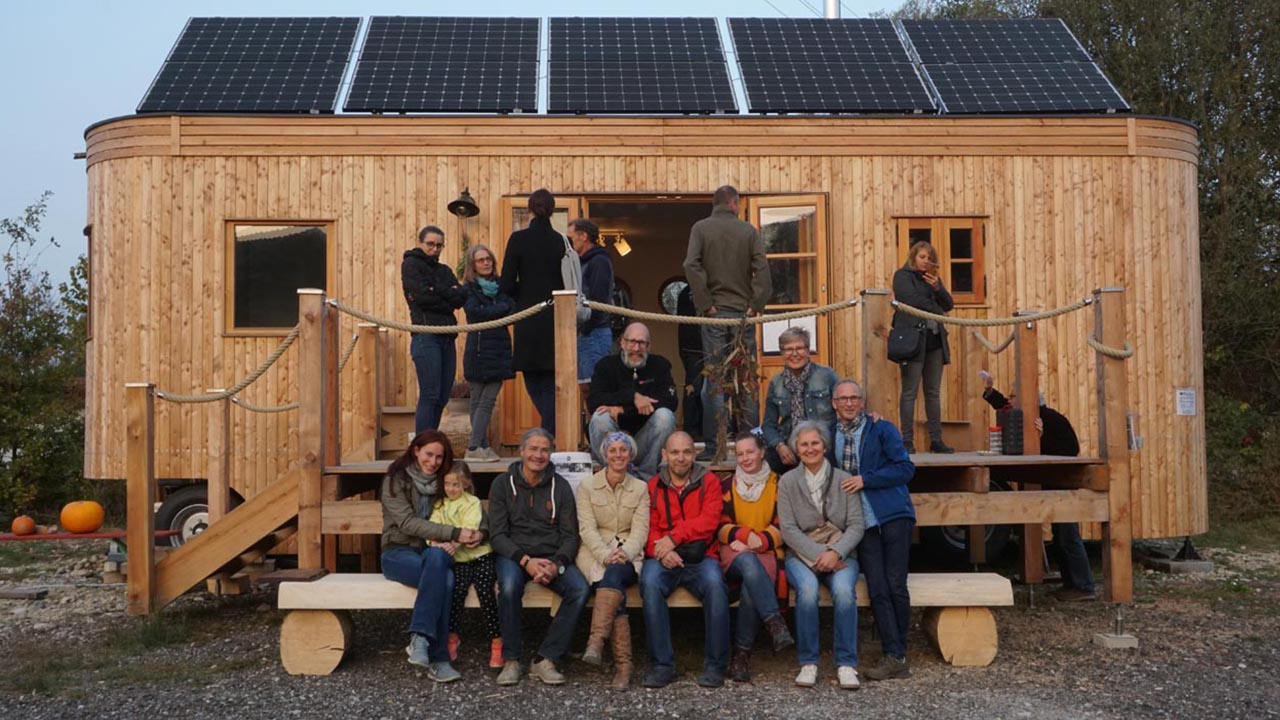 Ein Dorf aus Tiny Homes: Von der Idee, mobil und alternativ zu leben
