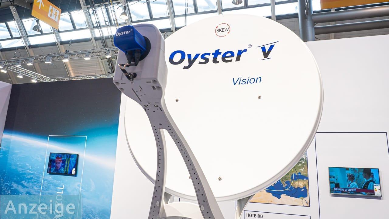 Produktvorstellung: Satellitenanlage Oyster® V von ten Haaft