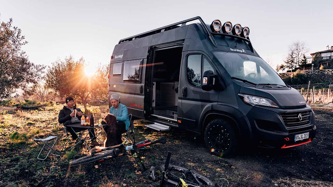 Der Sunlight CLIFF 4×4 Adventure Van: auf ins Abenteuerland!