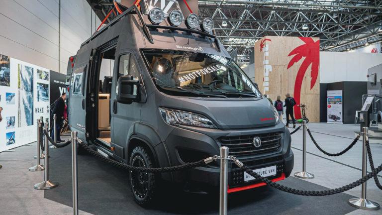 Beitragsbild Sunlight Cliff 4x4 Adventure Van auf dem Caravan Salon 2019 in Düsseldorf